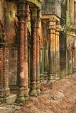 Coloured pillars Stock Photos