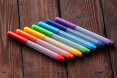 Coloured porad pióra Zdjęcie Stock