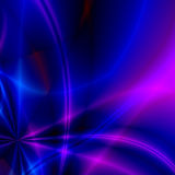 Coloured rays. The generated coloured rays dissecting space form an abstract background stock photo