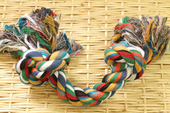 Coloured rope Royalty Free Stock Photography