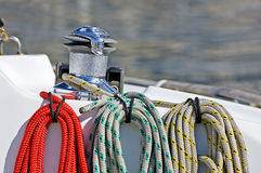 Coloured ropes Royalty Free Stock Photography