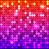 Coloured sequins Stock Photography