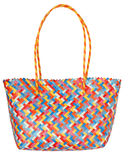 Coloured shopping bag Stock Images
