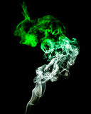 Coloured smoke Royalty Free Stock Photo