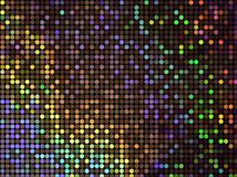 Coloured Spots. Pattern of coloured spots Stock Photography