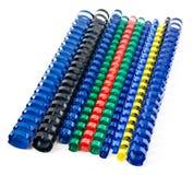 Coloured springs Stock Photos