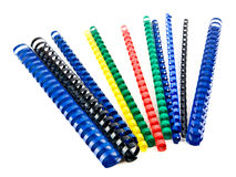 Coloured springs Stock Images