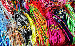 Coloured strings Royalty Free Stock Image