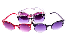 Coloured sunglasses Stock Image