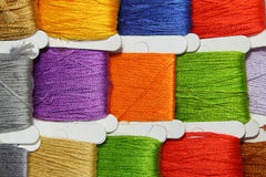 Coloured Threads Royalty Free Stock Image