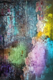 Coloured wall Stock Photography