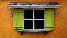 Coloured window Royalty Free Stock Photography