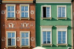 Coloured windows Royalty Free Stock Photography