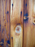 Coloured Wood. Closeup of shed door stock photos