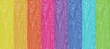 Coloured Wood Stock Images