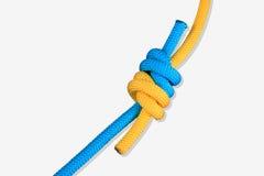 2 coloureful части веревочки Стоковые Фотографии RF