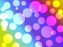 coloures κύκλων στοκ εικόνες