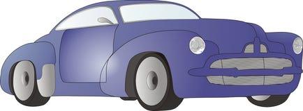 Coloures car. Car in colour retro style Stock Photos