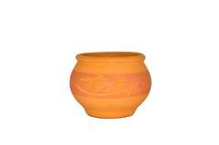 Colourfeul fait main Clay Pottery Image libre de droits