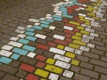 Colourful ścieżka Obrazy Stock
