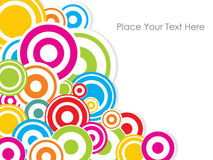 Colourful absract background.Vector. Royalty Free Stock Image