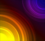 Colourful abstract background. Made from circles Royalty Free Stock Images