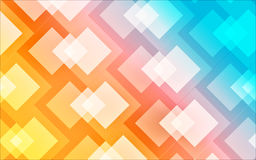 Colourful Abstract Background. Abstract  background design in colourful squares Royalty Free Stock Images