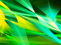 Colourful abstract background - digitally generated image. Colourful geometric abstract background - computer-generated image. Fractal art: bright colored lines Stock Image