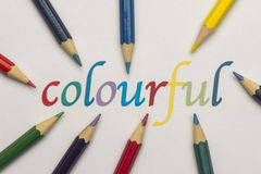 Colourful Royalty Free Stock Photography