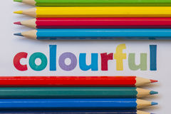 Colourful Royalty Free Stock Image