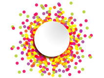 Colourful abstract design for use as a background. Available in eps10 format Royalty Free Stock Photography