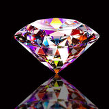Colourful abstract diamond Royalty Free Stock Images