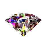 Colourful abstract diamond Royalty Free Stock Photography