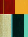 A colourful abstract image. A colourful minimalist abstract painting Stock Image