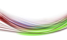 Colourful abstract lines Stock Photos