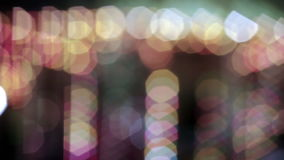 Colourful and abstract rotating lights stock video footage