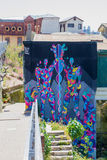 Colourful Abstract Street Art Royalty Free Stock Photography