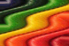 Colourful abstrakcjonistyczny falowy wzór dla tła royalty ilustracja