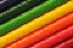 Colourful abstrakcjonistyczny mozaika wzór dla tła zdjęcie stock