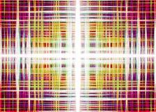 Colourful abstrakcjonistyczny soundwaves tło Zdjęcie Royalty Free