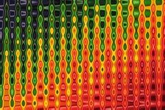 Colourful abstrakcjonistyczny twirl wzór dla tła ilustracja wektor