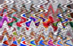 Colourful abstrakcjonistyczny twirl wzór dla tła ilustracji