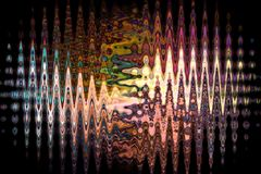Colourful abstrakta wzór obraz stock