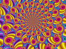 Colourful abstrakta wzór ilustracja wektor