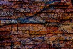 Colourful abstrakta wzoru unikalny projekt zdjęcia stock