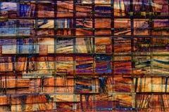 Colourful abstrakta wzoru unikalny projekt ilustracja wektor