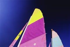 Colourful żagle Zdjęcia Stock