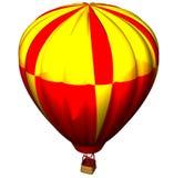 Colourful air balloon. A very colourful air balloon Stock Image