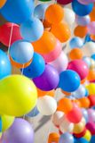 Colourful air balloons. Royalty Free Stock Photo