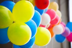 Colourful air balloons. Stock Images